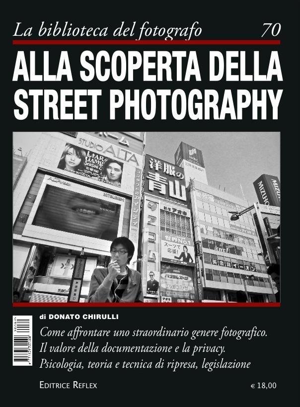 Donato Chirulli Photography Cover libro - Alla Scoperta della Street Photography