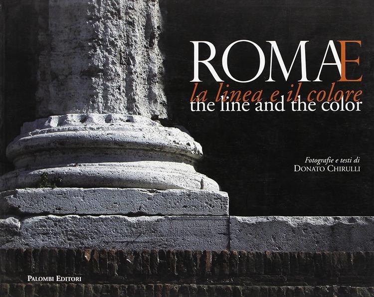 Donato Chirulli Photography Cover libro - Roma La Linea e il Colore
